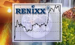 RENIXX stock index (financial service) von Internationales Wirtschaftsforum Regenerative Energien