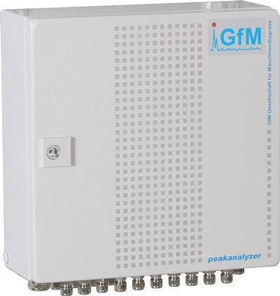 Peakanalyzer von GfM Gesellschaft f�r Maschinendiagnose mbH