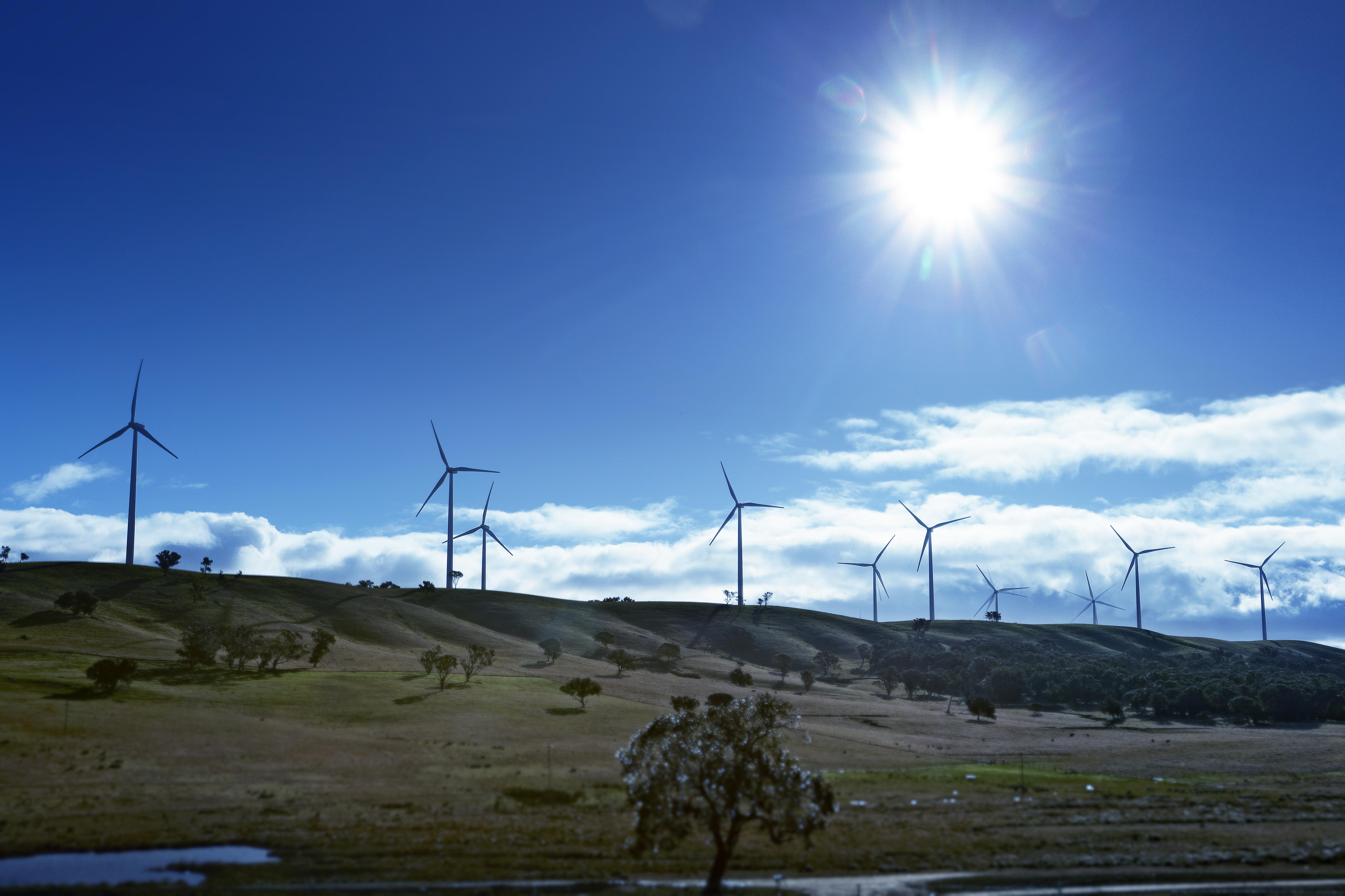 Nordex Windpark in Australien