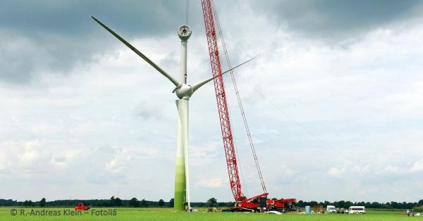 Errichtung Windenergieanlage Enercon