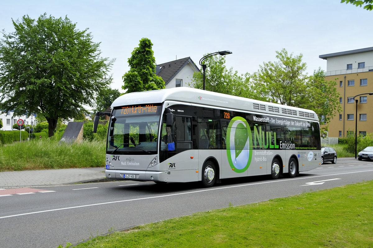 Brennstoffzellen Bus