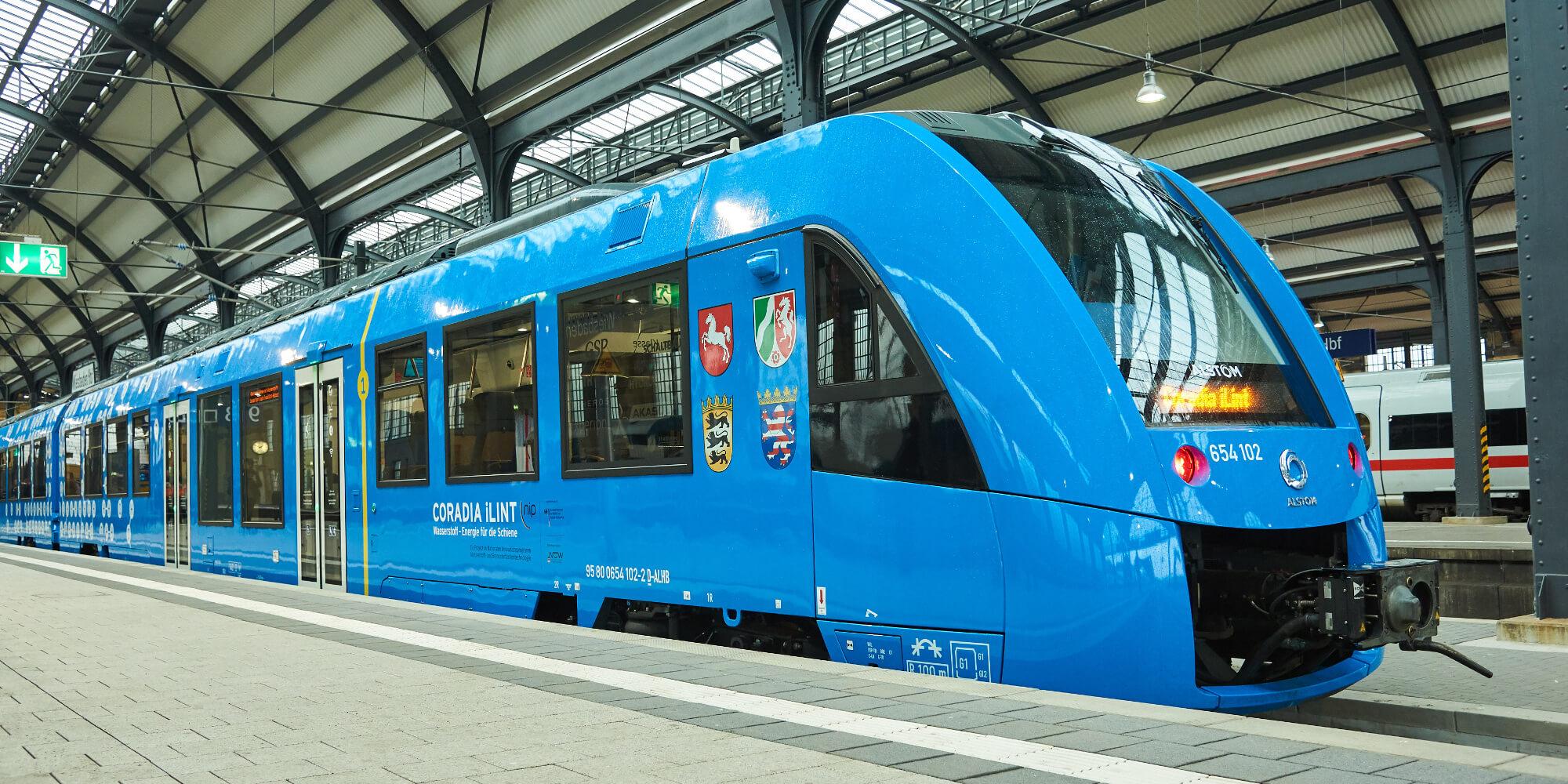 Brennstoffzellen-Zug Sonderfahrt 13.04.2018