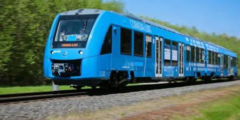 Alstom Brennstoffzellen-Zug Coradia iLint