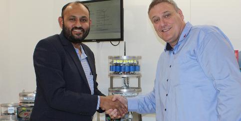C. Sundar, repräsentiert die Quantec Signals als Sales Agent in Indien