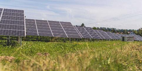 Solarpark Ingoldingen mit extensivierter Grünfläche