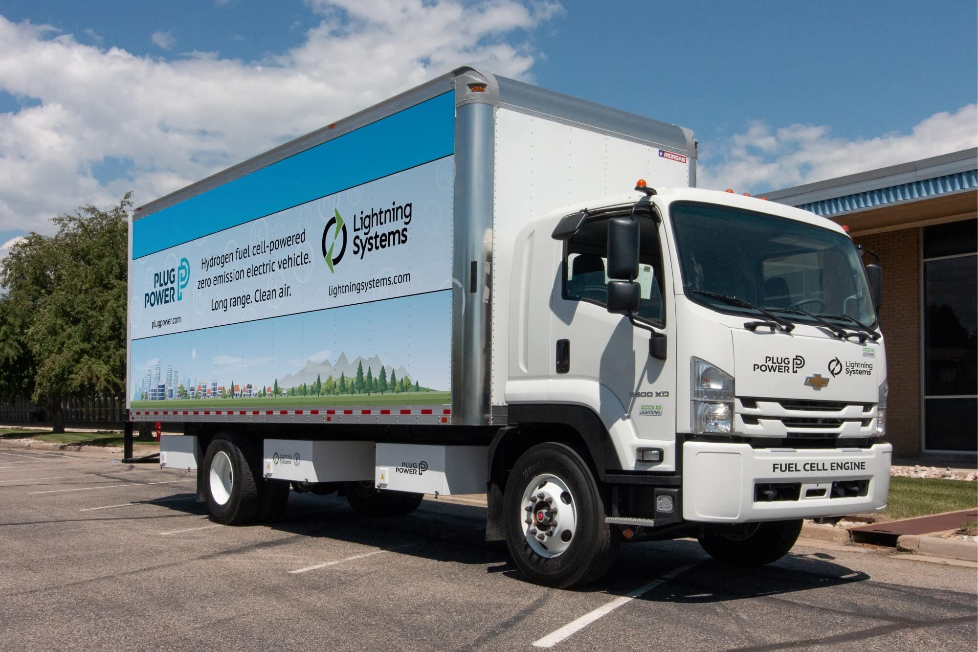 Plug Power startet Kooperation für Brennstoffzellen Elektro-Lkw