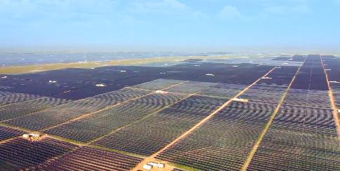 Die Giganten: Neue Solarparks der Superlative in China, Indien, den VAE und Australien