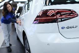 E-Golf von VW