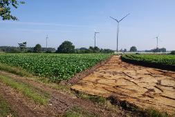 Baubeginn Windpark Düste II