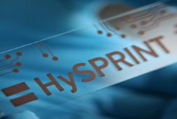 Gedrucktes HySPRINT-Logo